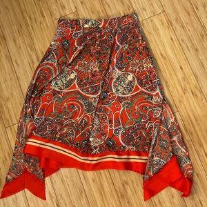 HM Scarf Print Dress